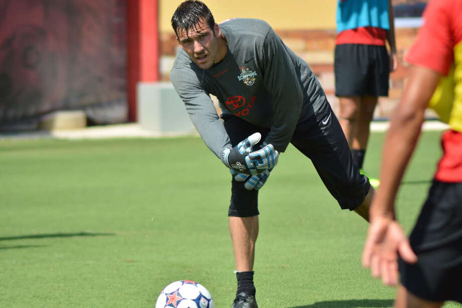 The San Antonio Scorpions recently acquired Daniel Fernandes at goaltender to bolster the defense. Photo: Courtesy Photo /S.A. Scorpions