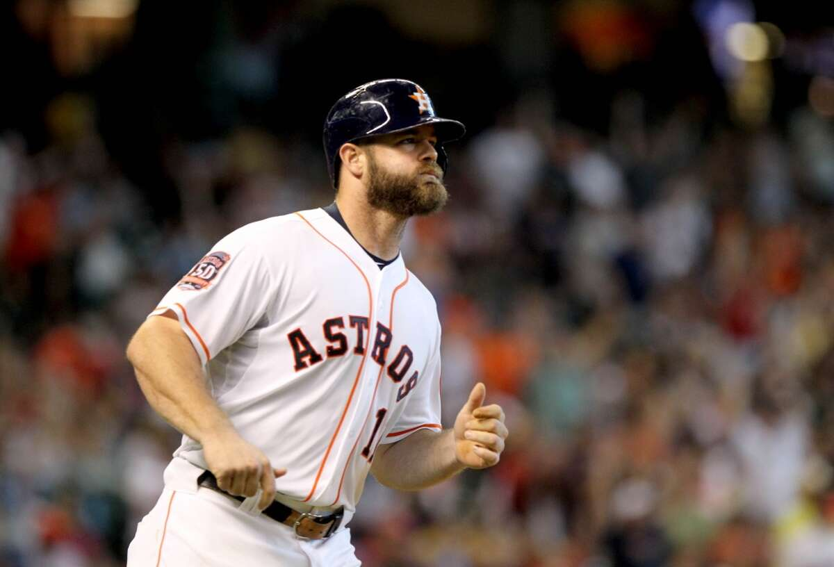 Astros designated hitter Evan Gattis recently had hernia surgery, and his recovery is expected to take four to six weeks.