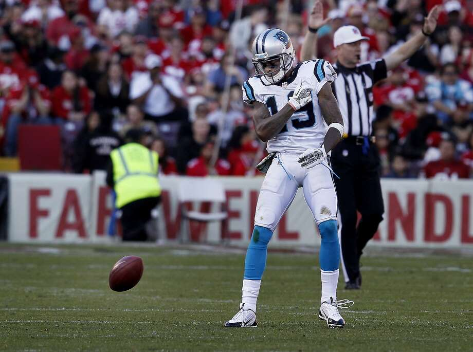 Ted Ginn Jr., who played for the 49ers from 2010-2012, signed a two-year, $4.2 million deal in the offseason to return to the Carolina Panthers after one season with the Cardinals. Photo: Brant Ward, The Chronicle