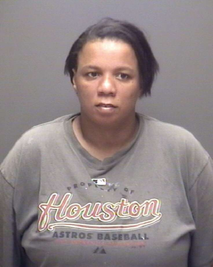 LaTonya Biagaswas arrested by Galveston County Warrant Division with assistance by United States Marshals as part of a countywide felony warrant sweep. Charges: Forgery of financial documents - elderly. Photo: Galveston County Sheriffs Office