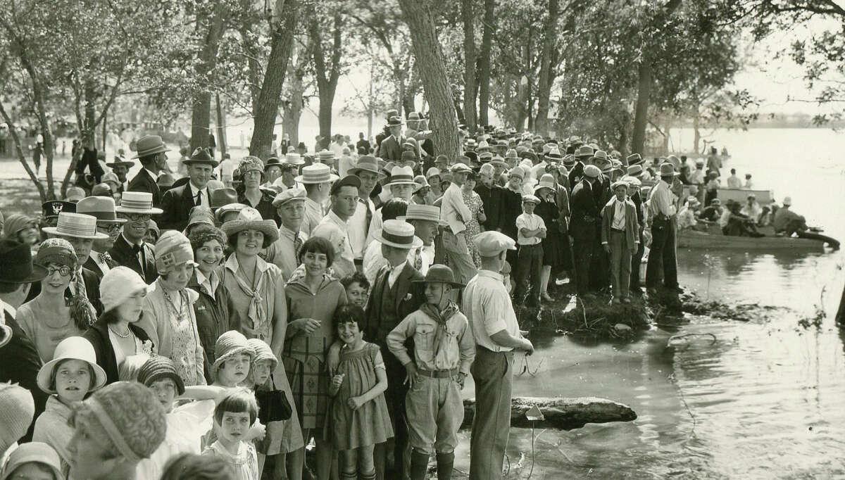 Seguin community members, undated file photo