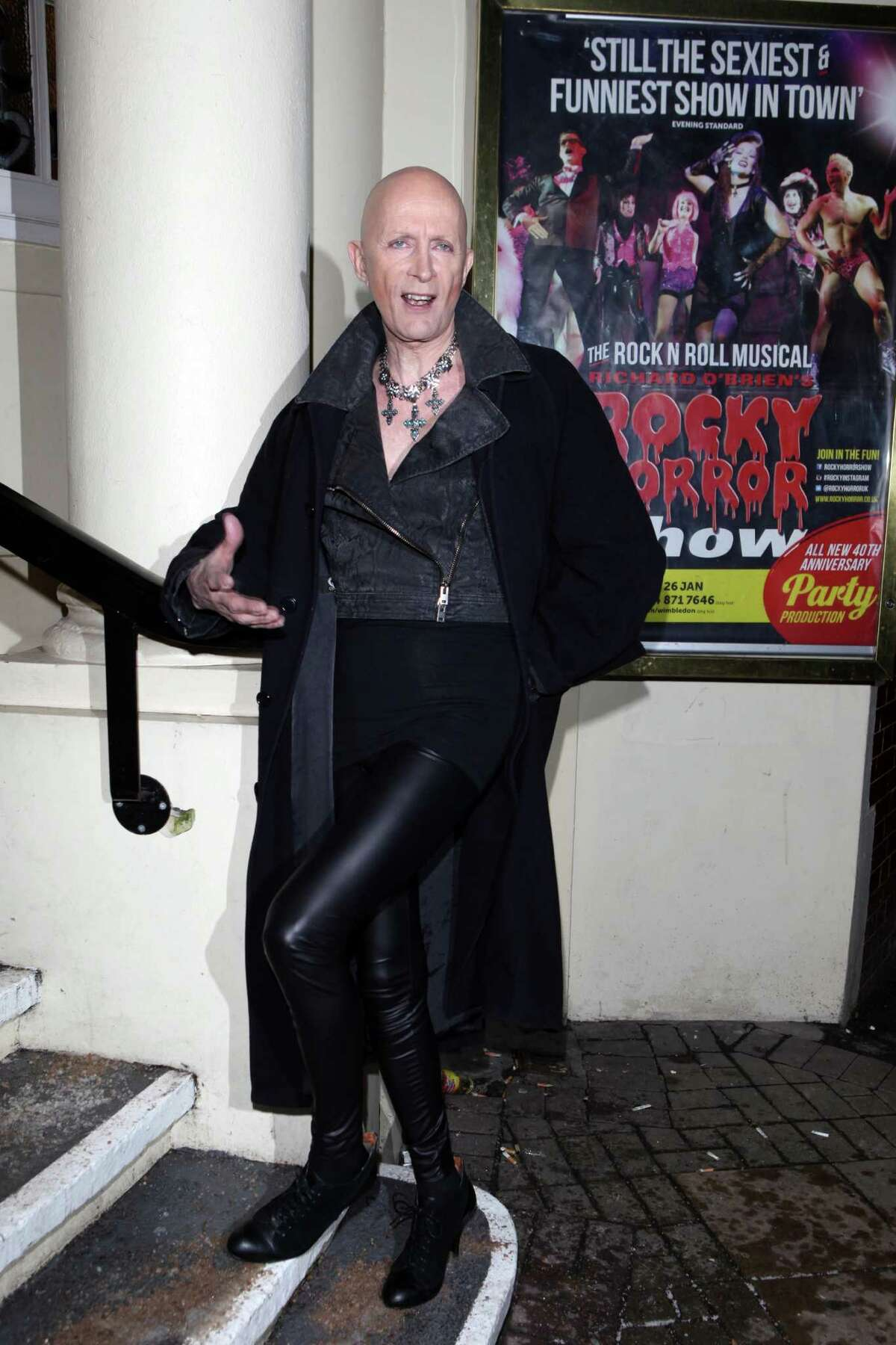 Richard O'Brien didn't just play the role of Riff Raff in the film version of