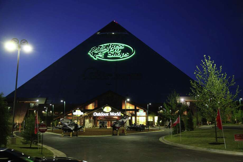 No redevelopment project has received more attention in Memphis than its pyramid, which has been turned into a Bass Pro Shops, and includes a hotel, bowling alley and shooting range. Photo: Josh Noel /TNS / Chicago Tribune