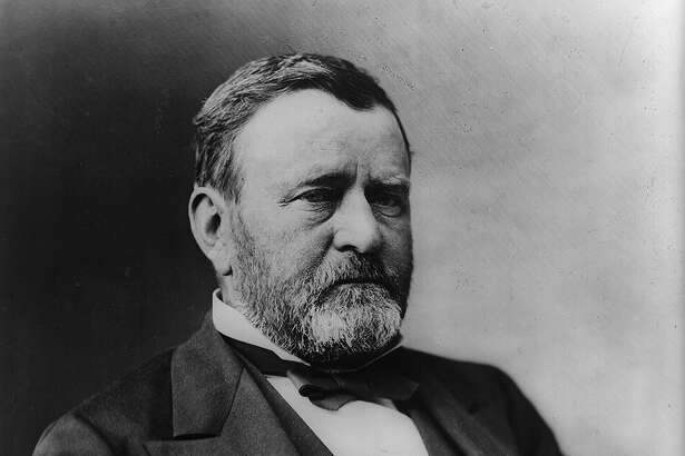 President Ulysses S. Grant, half-length portrait, seated, facing right].