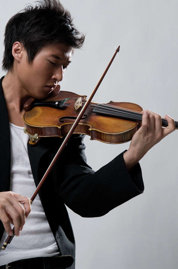 Classical violinist with rock-star charisma part of Danbury Music