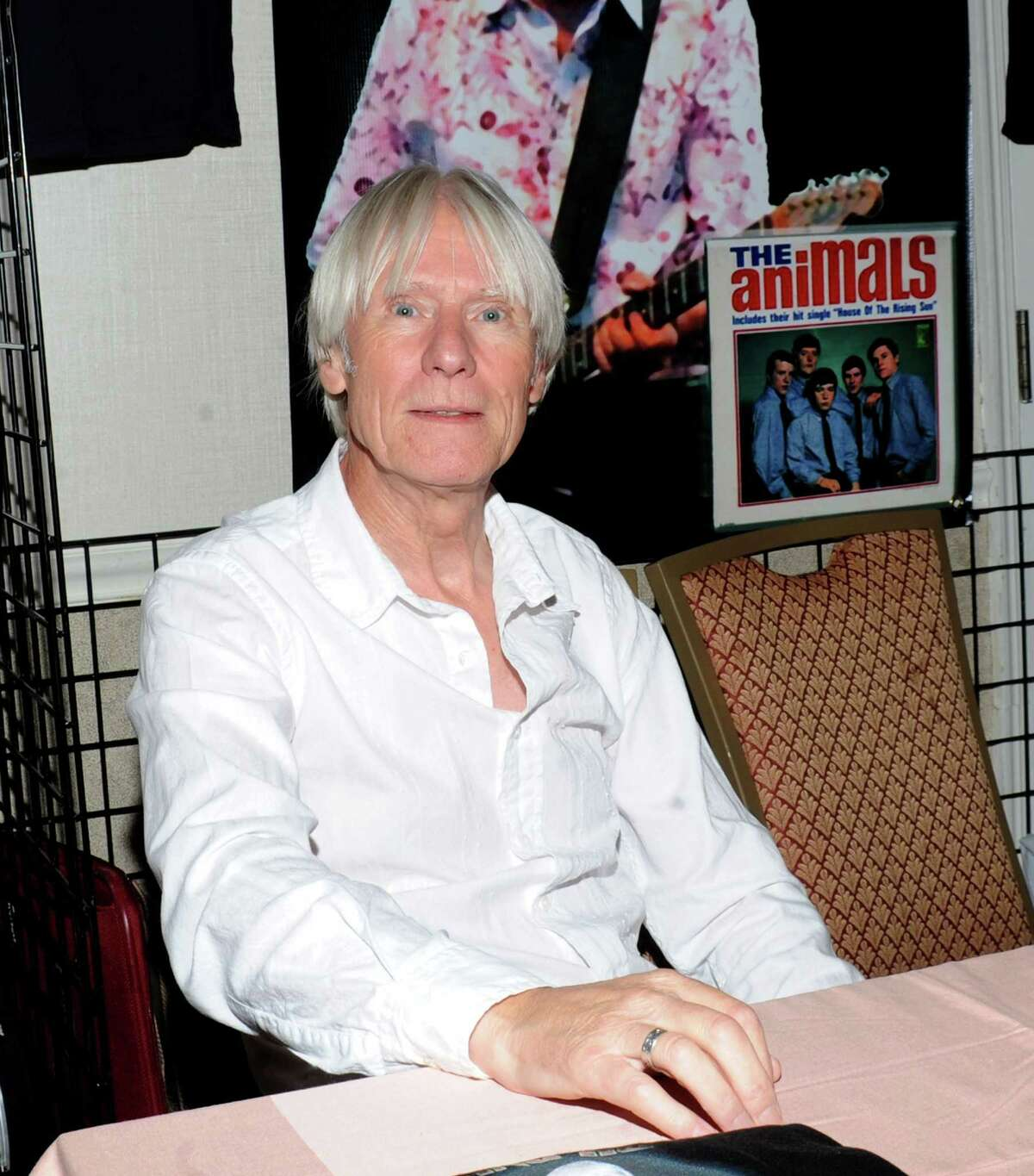 Hilton Valentine, of The Animals, attends the 2010 Rock Con: The National Rock & Roll Fan Fest at the Sheraton Meadowlands Hotel & Conference Center in East Rutherford, N.J. Valentine will be in Danbury on Saturday, Aug. 15, for the
