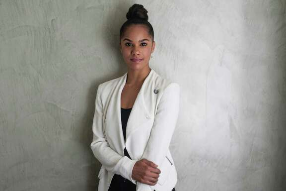 WASHINGTON, DC - SEPTEMBER 17: Ballerina Misty Copeland is photographed at the National Press Club Building on September 17, 2014 in Washington, DC. (Photo by Kris Connor/Getty Images)