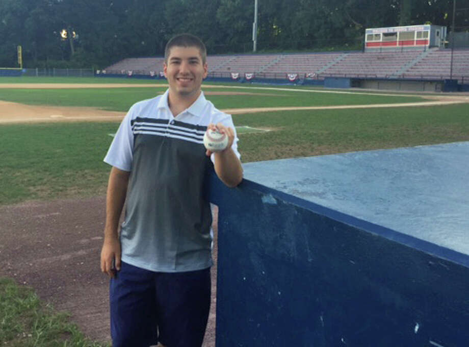 Babe Ruth baseball board member Chris Kuczo at Cubeta Stadium in Stamford. August 2015 Photo: Contributed Photo / Contributed Photo / Stamford Advocate Contributed