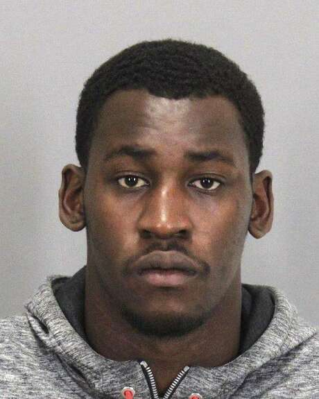 This booking photo released by the Santa Clara Police Department, shows San Francisco 49ers linebacker Aldon Smith following his arrest Friday, Aug. 7, 2015, in Santa Clara, Calif. Smith received second chance after second chance with the San Francisco 49ers, who parted ways with their troubled linebacker Friday following his fifth run-in with the law. Santa Clara police arrested Smith Thursday, and accused him of drunken driving, hit and run and vandalism. (Santa Clara Police Dept. via AP) Photo: Associated Press