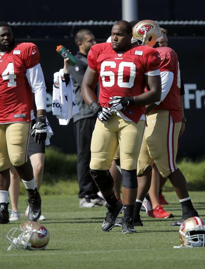 NFL Jerseys - 49ers' Brandon Thomas making push to be starter - SFGate