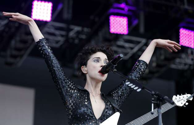 St. Vincent performs at Outside Lands music festival in San Francisco, California, on Friday, Aug. 7, 2015. Photo: Connor Radnovich, The Chronicle