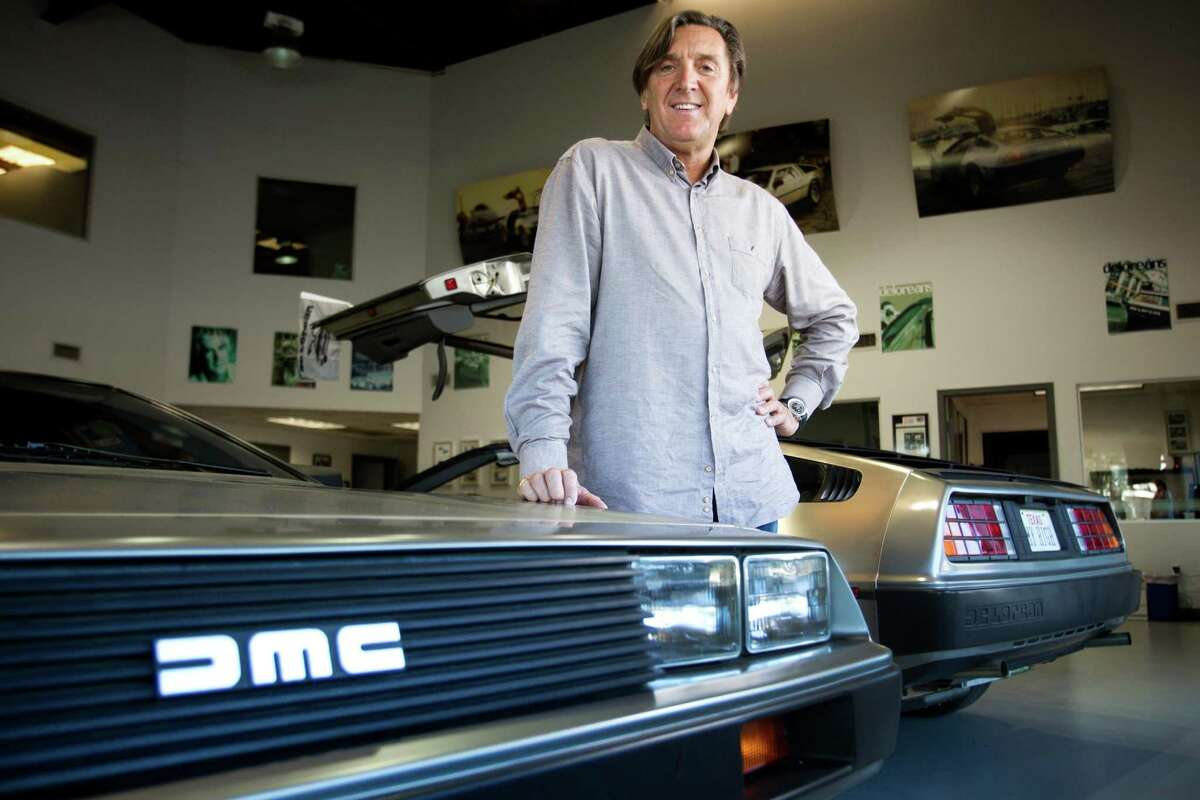 Stephen Wynne, owner of DeLorean Motor Co., poses for a portrait Jan. 14, 2014, in Humble.