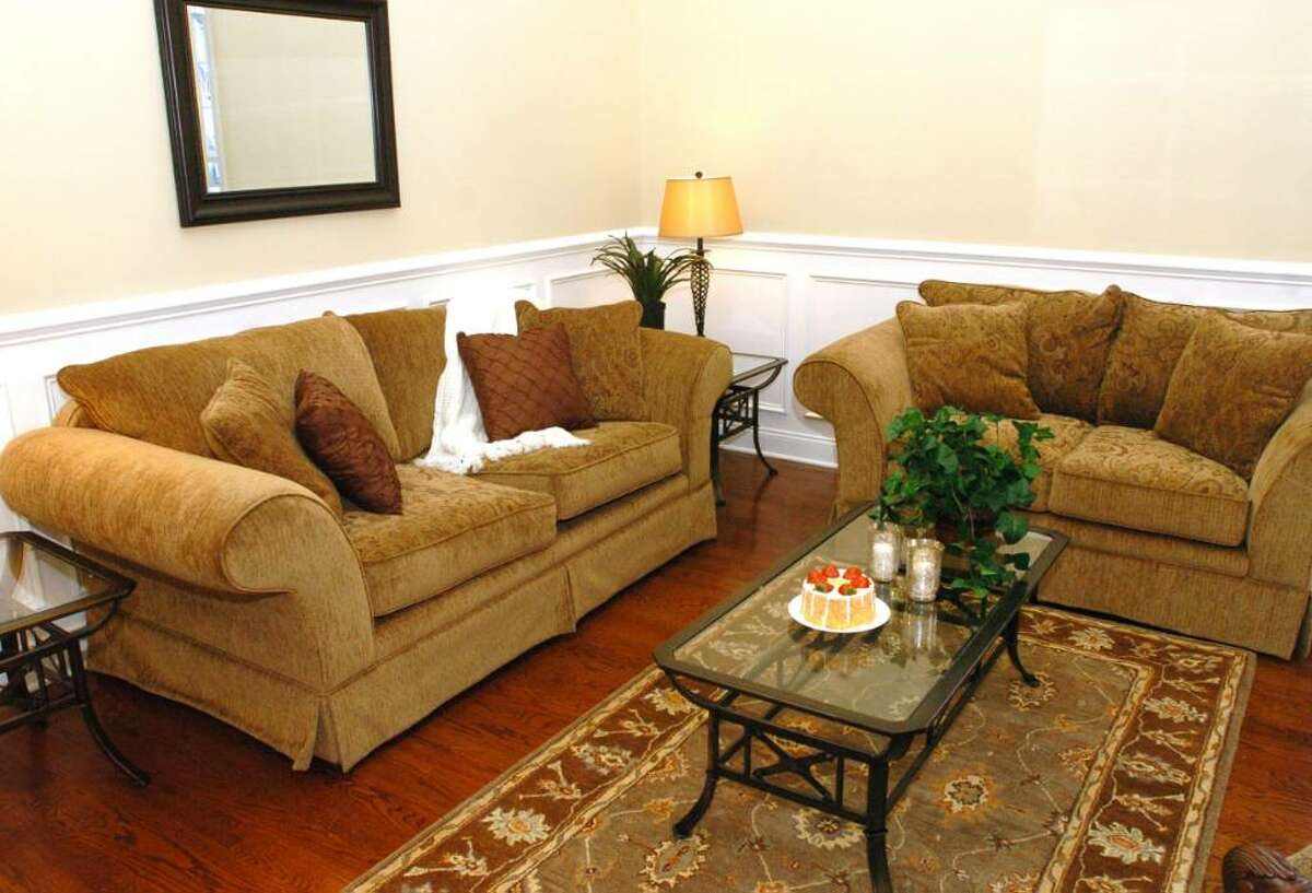 A staged new town home at Bethel Meadows, in Bethel, Thursday, Jan. 7, 2009.