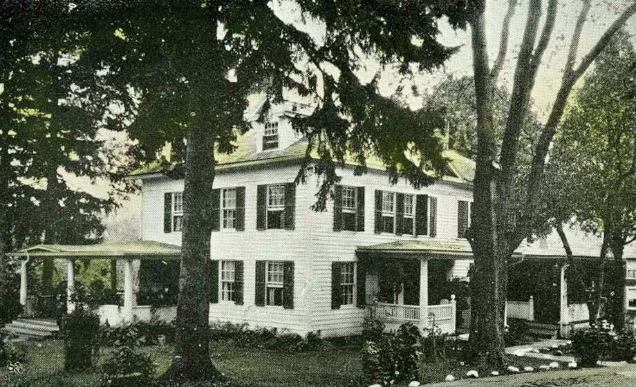 The former Gray Squirrel Inn,along Church Street in New Preston, is the home of the New Preston Women's Club. The edifice is seen here in a postcard from the archives of the Gunn Memorial Museum in Washington. Those who would like to loan or contribute a photo from any of the Greater New Milford-area towns should bring it to Norm Cummings at the Greater New Milford Spectrum office at 45B Main St. or email ncummings@newstimes.com. If the photo is to be returned, please leave a phone number and mailing address. Photo: Gunn Memorial Museum / Contributed Photo / The News-Times Contributed