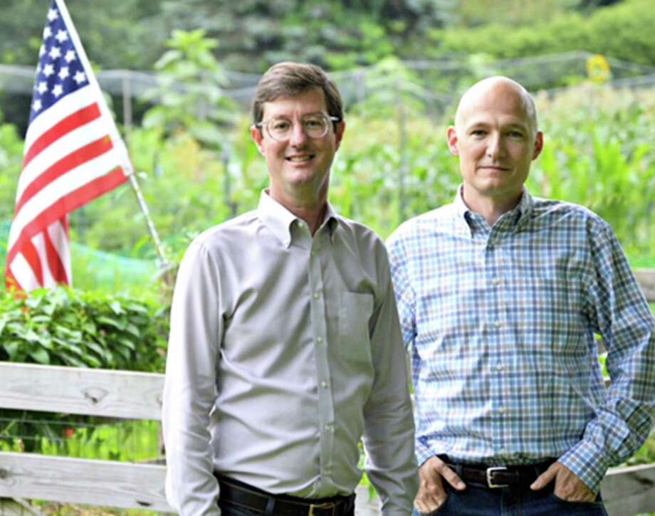 Republican incumbent First Selectman Clay Cope, left, and Bob Ostrosky are GOP candidates for selectman. Photo: Contributed Photo / The News-Times Contributed
