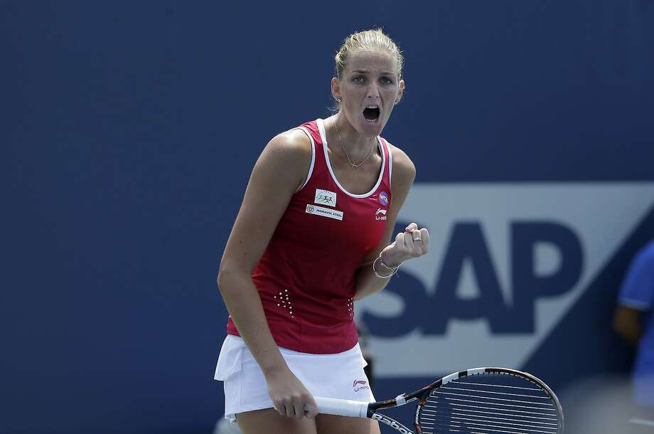 Karolina Pliskova has made five finals this year, including Sunday's title match at Stanford. That's the most on the WTA Tour this season. Photo: Jeff Chiu, Associated Press