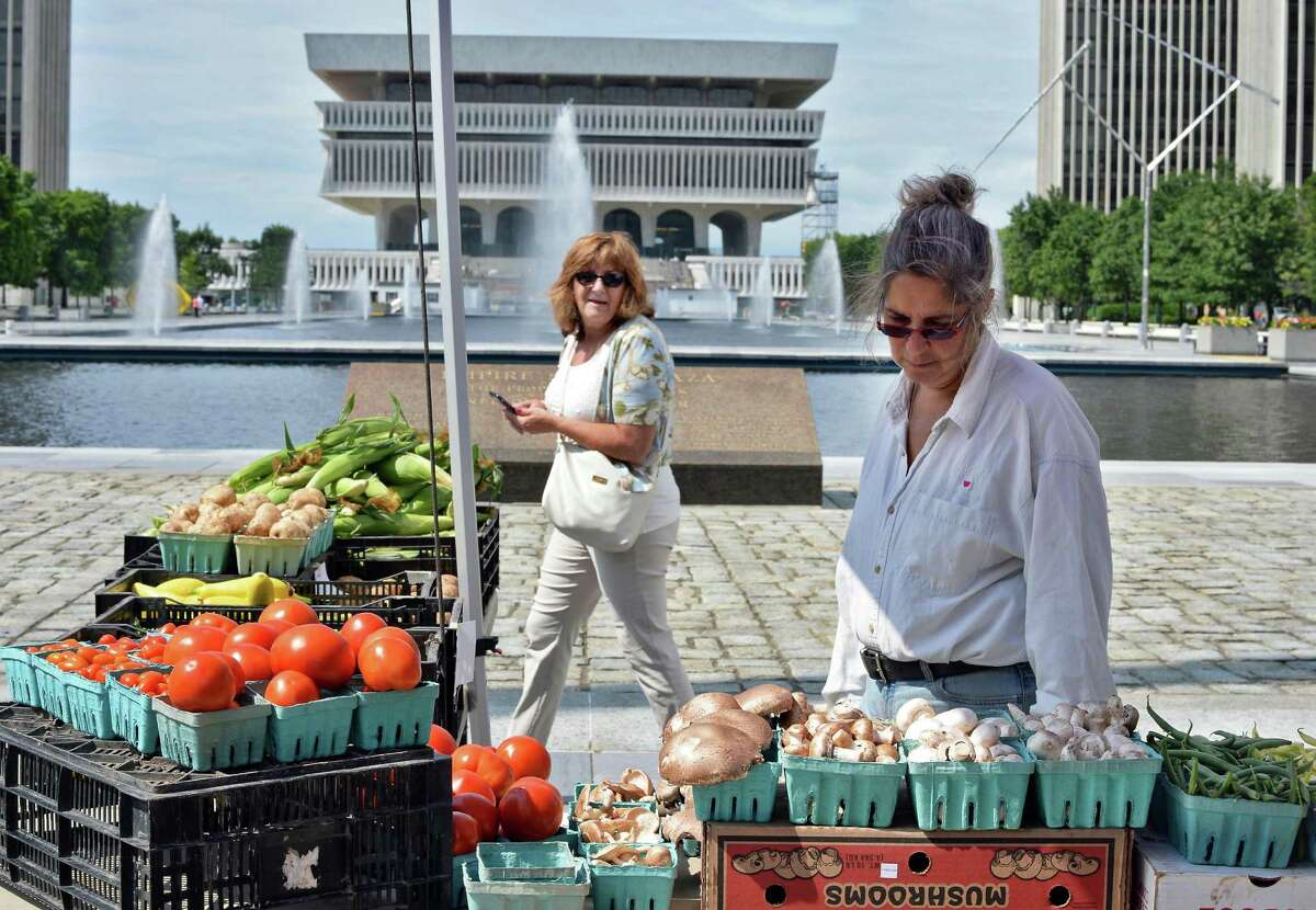 You can find fresh produce and more at the farmers market at the Empire State Plaza. When: Friday, Aug. 28, 10 a.m. - 2 p.m. Where: Empire State Plaza, Albany. For more info, visit the website.