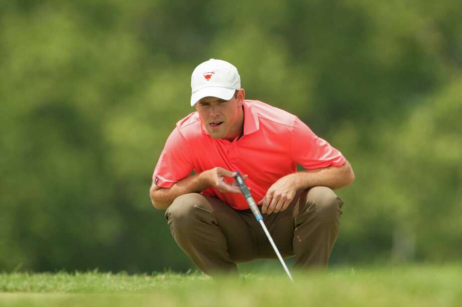 FLOURTOWN, PENNSYLVANIA- JULY 01: Daniel Venezio reads his putt on seventeen during Final Round of Play for the 48th PGA Professional National Championship at The Philadelphia Cricket Club on July 01, 2015 in Flourtown, Pennsylvania. (Photo by Montana Pritchard/The PGA of America) Photo: Montana Pritchard / 07.01.15
