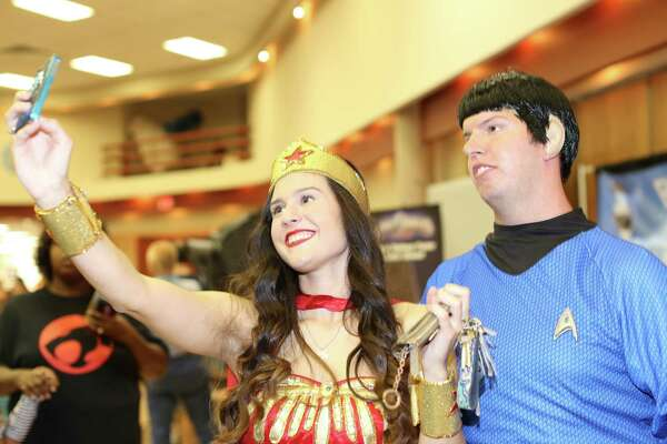 Comic books and geek culture were on display at the Texas Comicon Saturday at the San Antonio Shrine Auditorium.