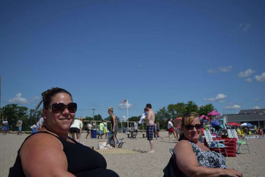Beach goers enjoyed the weather at Penfield and Jennings Beaches in Fairfield on August 9, 2015. Were you SEEN?