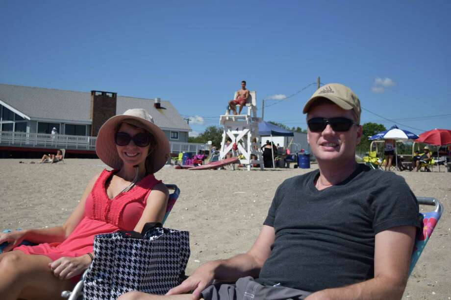 Beach goers enjoyed the weather at Penfield and Jennings Beaches in Fairfield on August 9, 2015. Were you SEEN? Photo: Todd Tracy / Hearst Connecticut Media Group