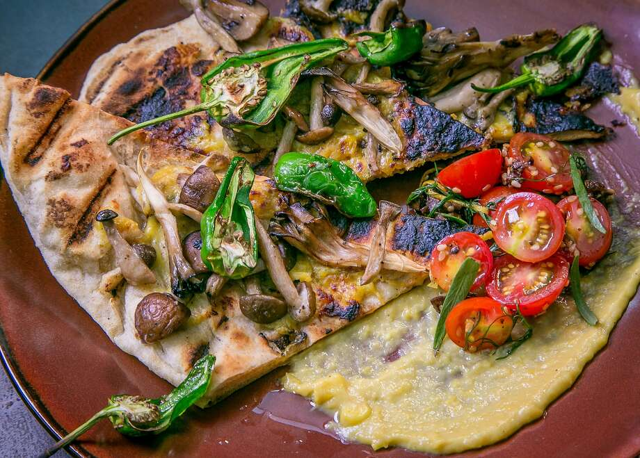 The Spelt Flatbread at Millennium in Oakland. Photo: John Storey, Special To The Chronicle