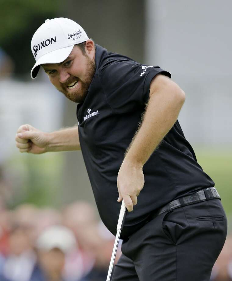 Shane Lowry now has a PGA Tour card for three years. Photo: Tony Dejak, Associated Press