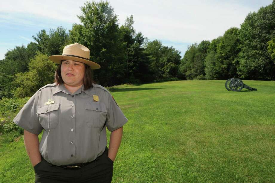 Amy Brooke Bracewell who was recently appointed superintendent of the Saratoga National Historical Park at the park on Friday Aug. 7, 2015 in Stillwater, N.Y. (Michael P. Farrell/Times Union) Photo: Michael P. Farrell / 10032828A