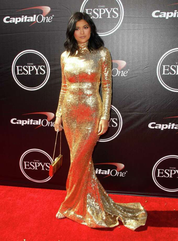 Kylie Jenner arrives at the ESPY Awards at the Microsoft Theater on Wednesday, July 15, 2015, in Los Angeles. (Photo by Paul A. Hebert/Invision/AP) ORG XMIT: CAJA164 Photo: Paul A. Hebert / Invision