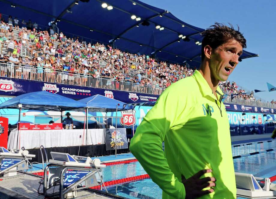 Michael Phelps' stirring performances at the Phillips 66 National Championships helped make the even a success. Photo: Edward A. Ornelas / San Antonio Express-News / © 2015 San Antonio Express-News