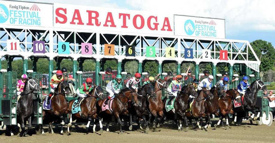 Click through the slideshow to get an insider's view of the Saratoga Race Course, including some places the general public can't go. Photo: SKIP DICKSTEIN