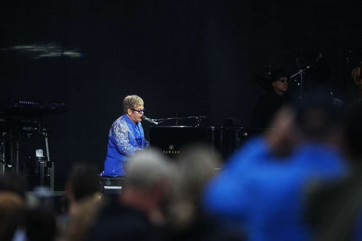 Elton John's performance closed out this year's Outside Lands on Aug. 9, 2015.