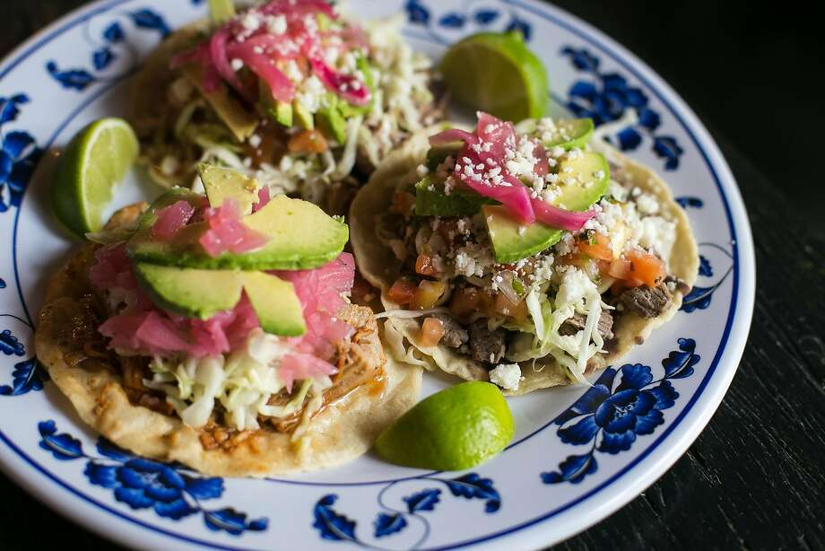 A plate of food at Tacorgasmico in the Castro neighborhood in S.F. Photo: Jen Fedrizzi, Special To The Chronicle