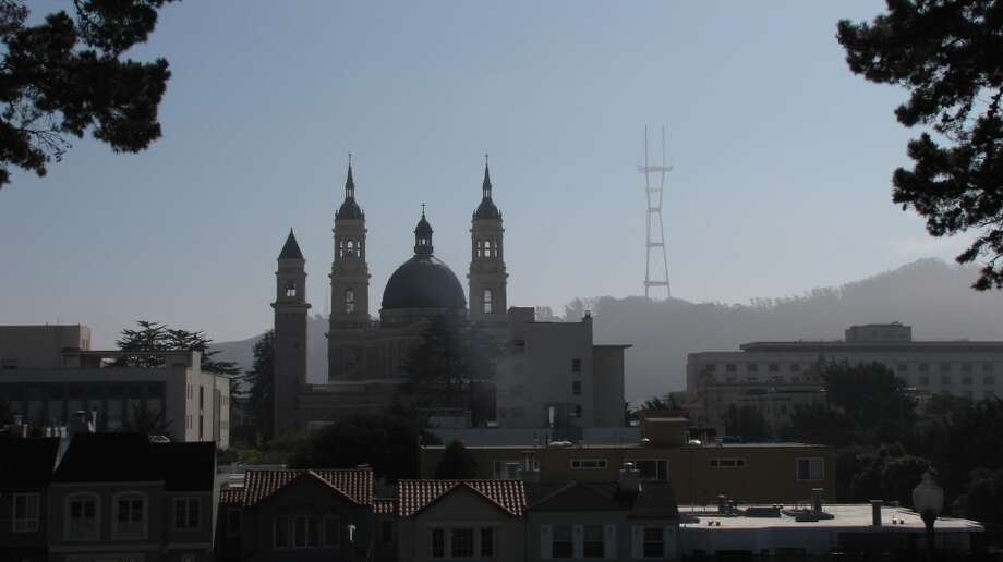Sutro Tower rises high above one of the world's most spectacular skylines. But, um, who actually owns the thing? Photo: John King, The Chronicle
