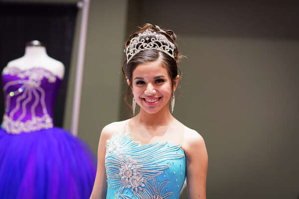 The Quinceañeras and Prom Expo filled the Convention Center on Sunday with all the fluffy, sequined ballgowns you might need to spin the classic S.A. Sweet 15.