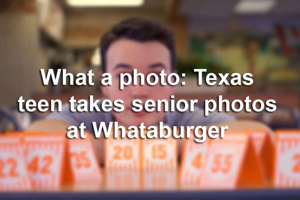 Click through the slideshow to see this creative Texas teen's senior photos.