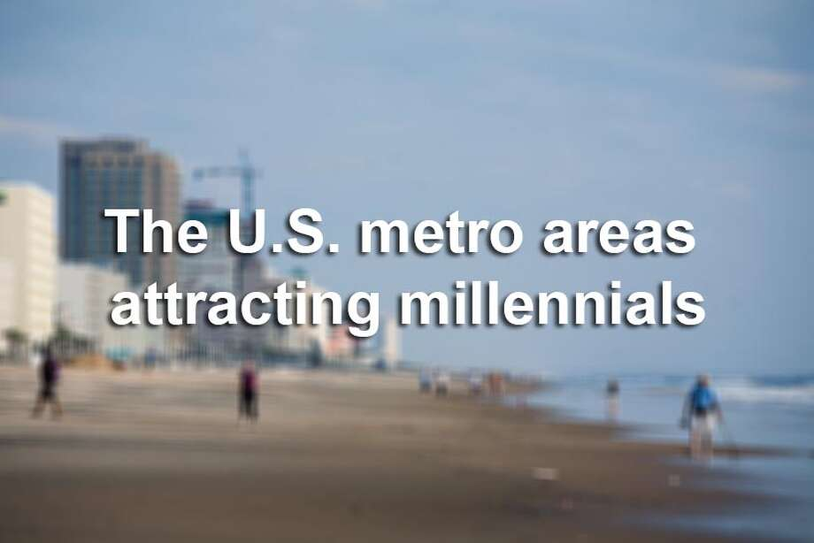 Scroll through the slideshow to see which U.S. metropolitan areas are attracted the most millennials.