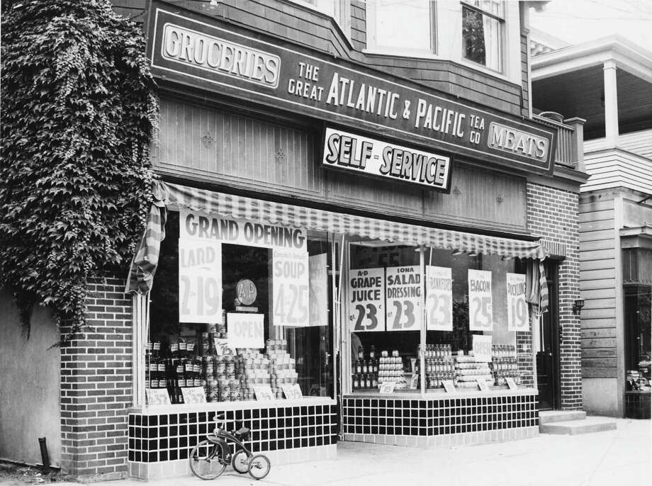 The Great Atlantic & Pacific Tea Co. at 1100 Madison Ave., Albany. Taken July 7, 1938. (Times Union Archive)