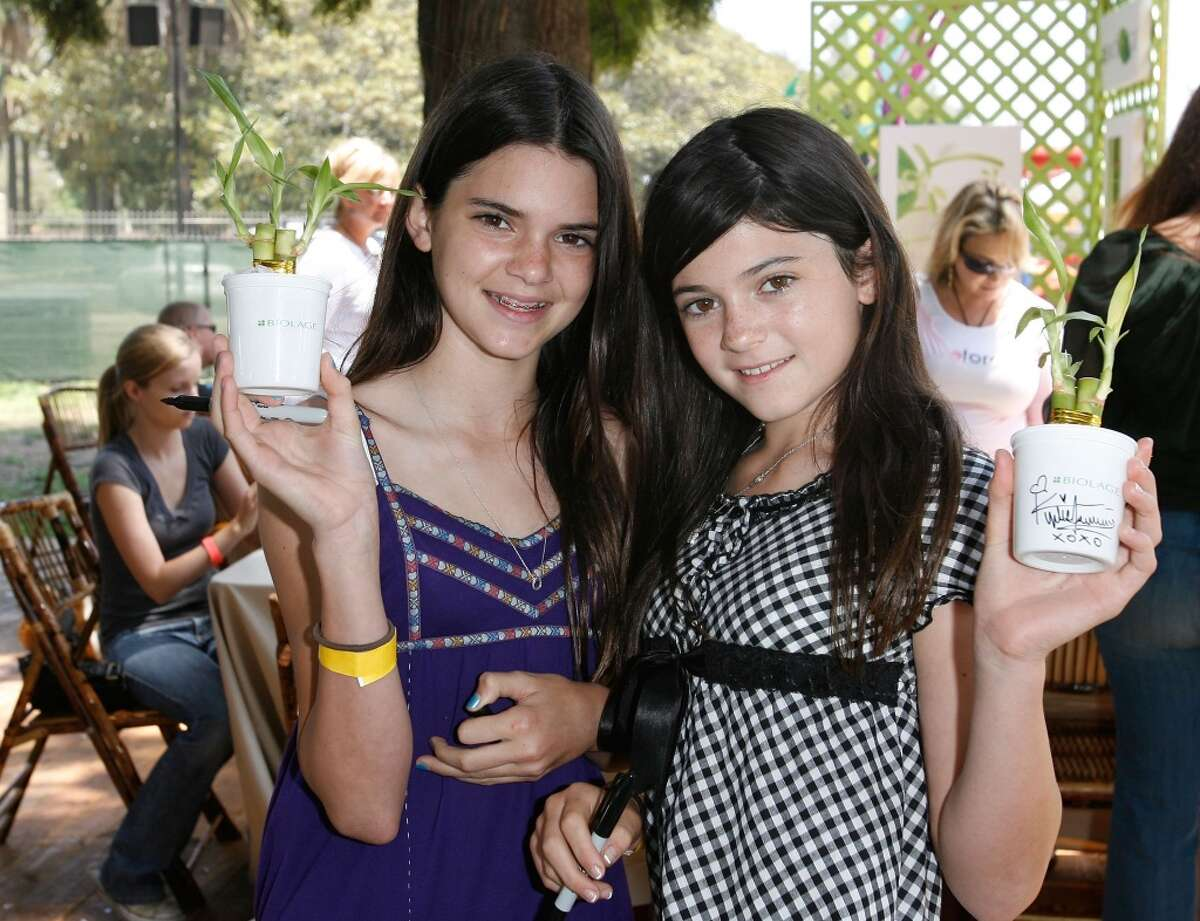 Television personalies Kendall Jenner and Kilie Jenner attend the Matrix at A Time for Heroes Celebrity Carnival Benefiting the Elizabeth Glaser Pediatric AIDS Foundation on June 8, 2008 at the Wadsworth Theater in Los Angeles (Photo by Donato Sardella/WireImage)