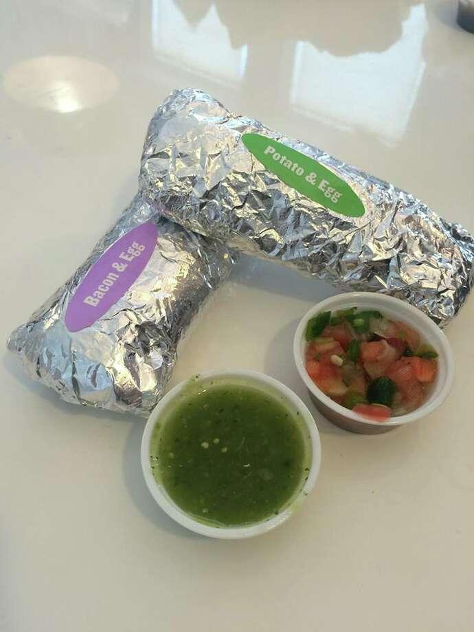 Taco Cabana breakfast taco (courtesy)