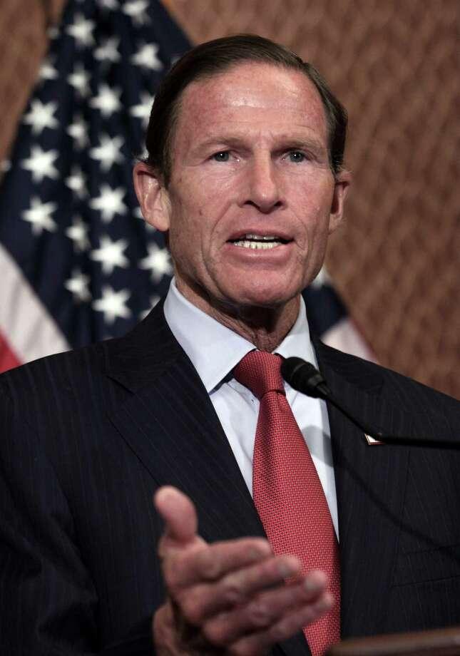 Sen. Richard Blumenthal, D-Conn. Photo: Lauren Victoria Burke / Associated Press / FR132934 AP