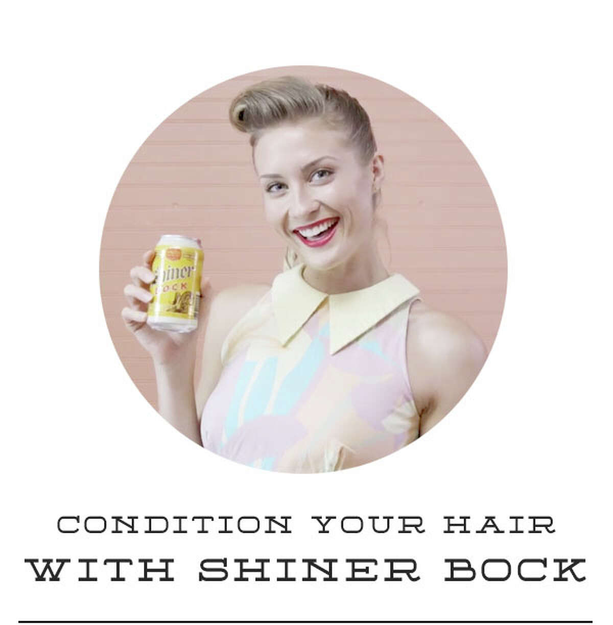 Birds Barshops in Austin are offering a free service: Washing customers' hair with Shiner Bock beer.