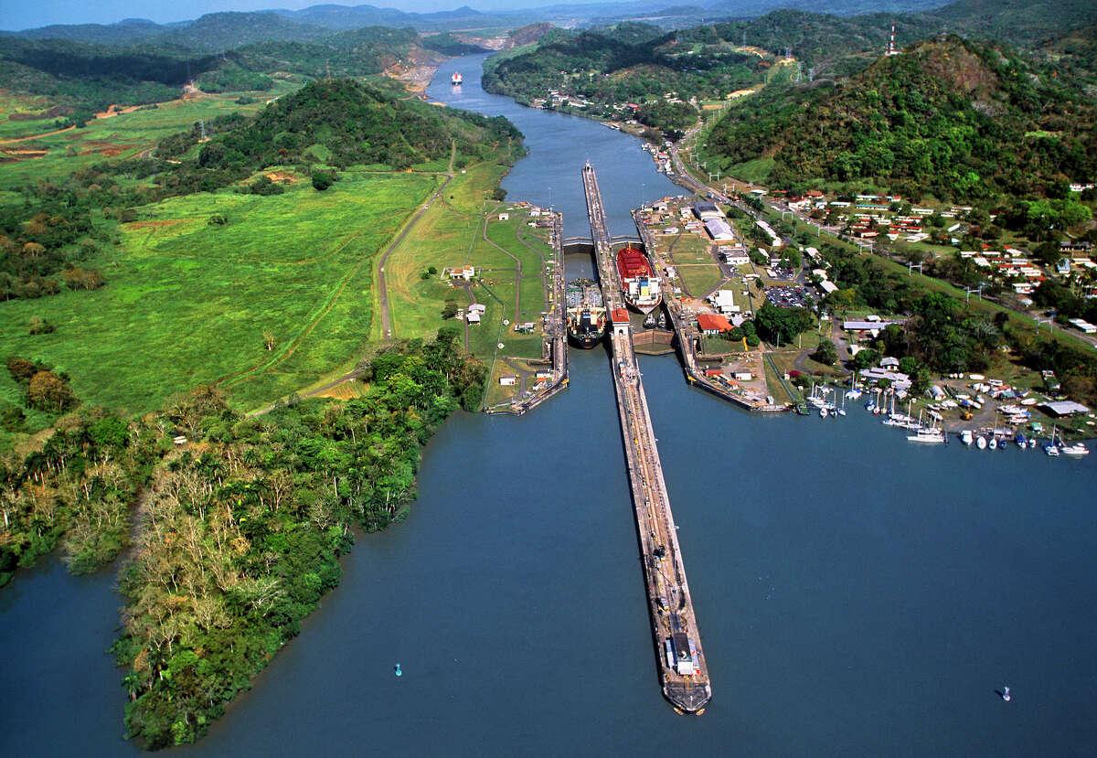 25. Panama Canal Panama