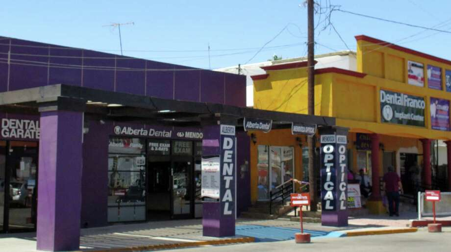 The trip to Los Algodones, Mexico, even counting the cost of traveling long distances, is often more affordable than getting dental care in the United States. Photo: Astrid Galvan /Associated Press / AP