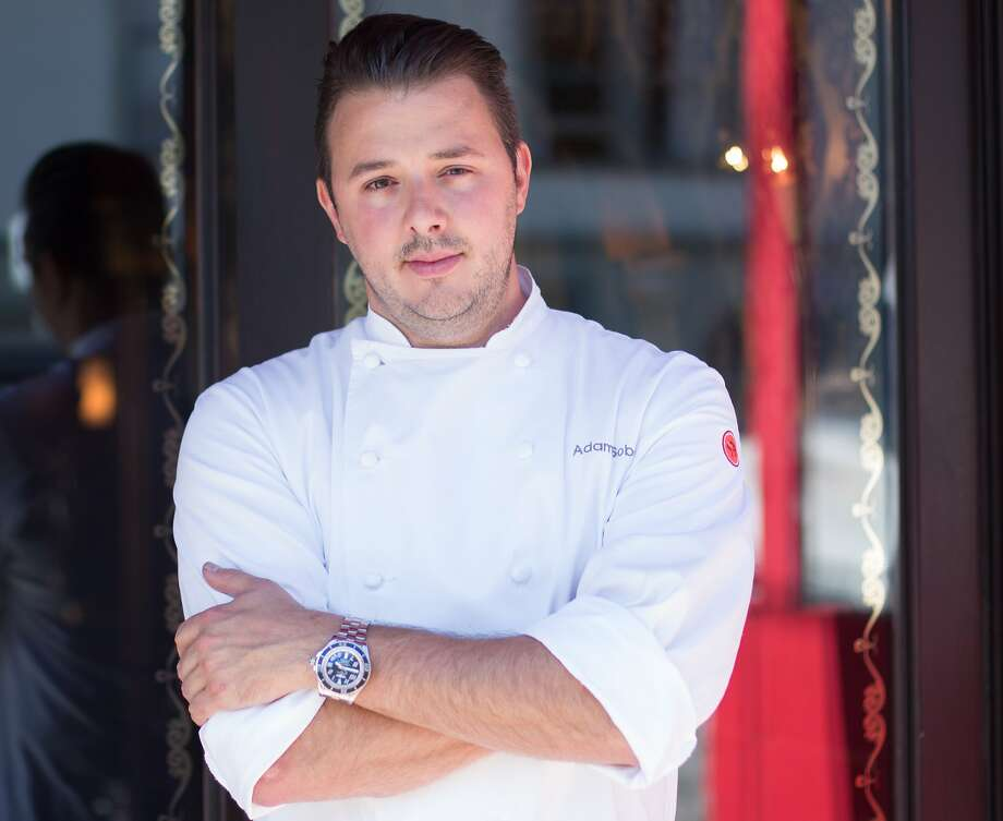 Middle'terranea's Adam Sobel, who with Michael Mina is creating new dishes. Photo: Kevin McCullough