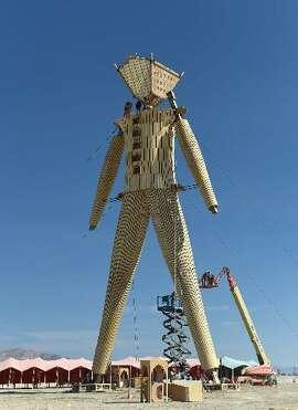 The 2014 Burning Man.