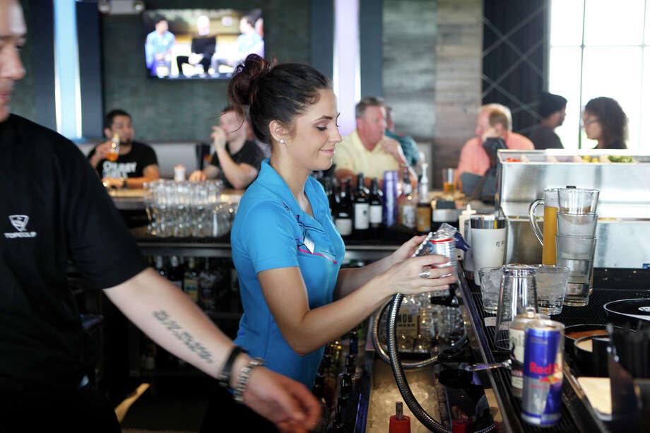 Topgolf San Antonio sold $556,000 in drinks in June.   Photo: Cynthia Esparza /For The San Antonio Express-News / For the San Antonio Express-News