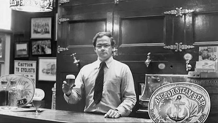 Fritz Maytag at Anchor Brewing Co. in 1965, the year he bought the near-bankrupt brewery. Photo: Courtesy Of Anchor Brewing Co.