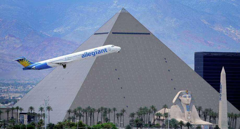 Service begins Nov. 6 for Allegiant's nonstop flights from San Antonio to Las Vegas. Photo: Associated Press File Photo / FR170737 AP