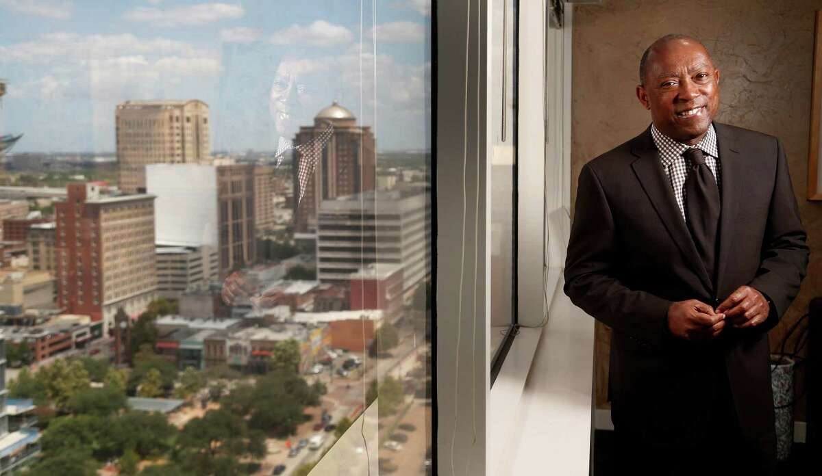 Sylvester Turner photographed in his office on Friday, Aug. 7, 2015, in Houston. ( Karen Warren / Houston Chronicle )